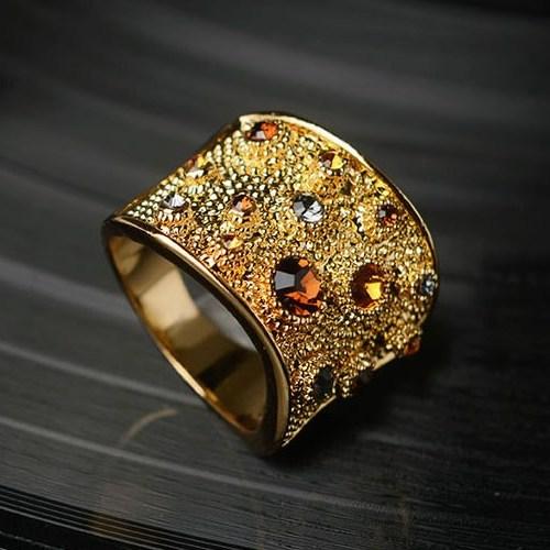 انگشتر کریستال اتریشی زنانه
