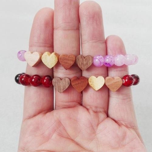 دستبند طرح قلب