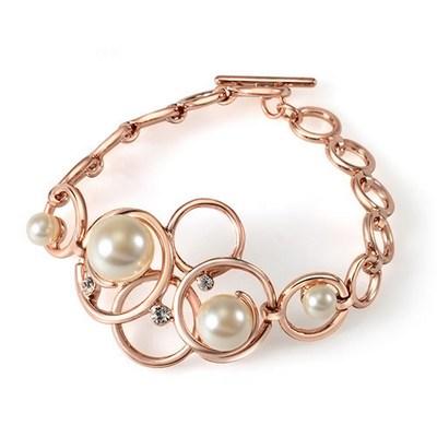 دستبند دخترانه شیک با نگین اتریشی