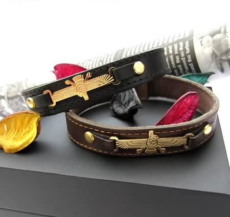 خرید دستبند نماد فروهر