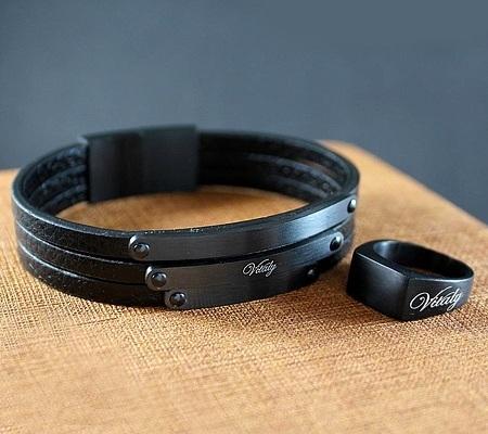 دستبند چرمی مدل جدید