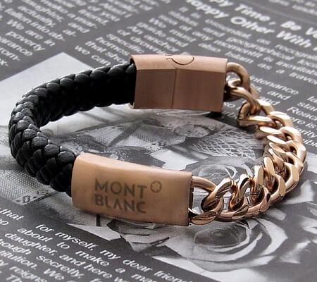 دستبند طرح Montblanc
