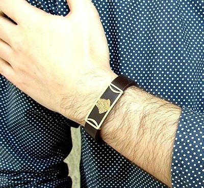 خرید دستبند چرمی