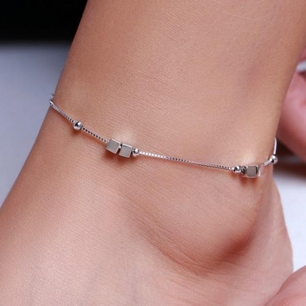 پابند نقره زنانه