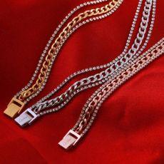 دستبند زنانه با روکش آب طلا