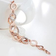 دستبند دخترانه با کریستالهای اتریشی