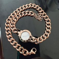 دستبند استیل طرح بولگاری
