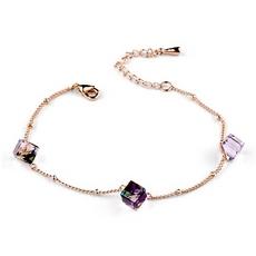 دستبند ظریف با کریستال سواروسکی