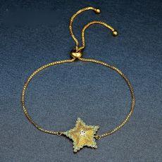 دستبند دخترانه طرح ستاره