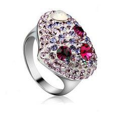 انگشتر کریستالهای سواروسکی اتریشی