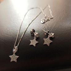 نیم ست نقره ستاره