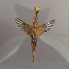 گردنبند نقره طرح فرشته