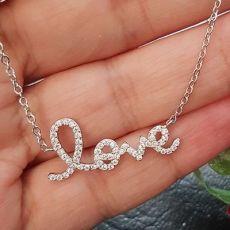 گردنبند نقره عشق