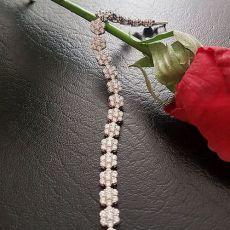 دستبند زنانه طرح گل