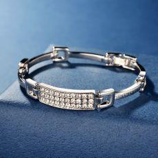دستبند زنانه با نگین زیرکونیا